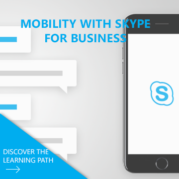Learn how to use the Skype  to remain connected and to communicate in mobility