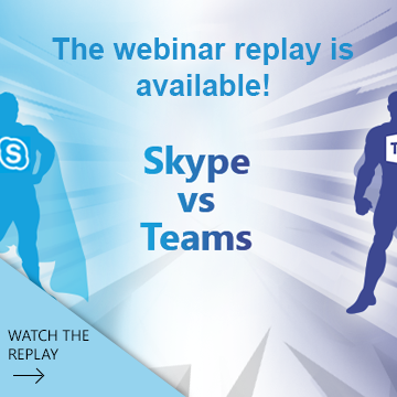 Webinar Moving on from Skype to Teams
